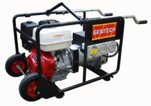 Gentec 8 k VA Honda Powered Generator with Wheels