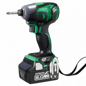 Hitachi 18V Slide Brushless Impact Driver 6.0Ah Kit