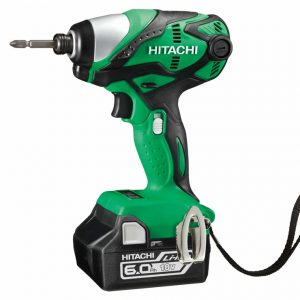 Hitachi 18V Slide Impact Driver 6.0Ah Kit