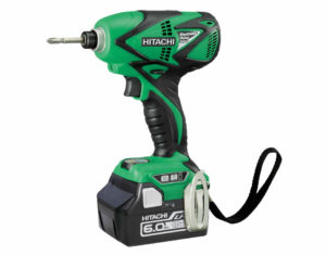 Hitachi 18V Brushless Electronic Pulse Impact Driver 6.0Ah Kit