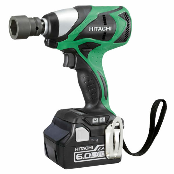 Hitachi 18V Brushless Impact Wrench Kit