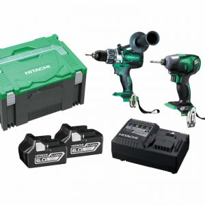 Hitachi 18V Cordless Brushless 2 Piece Combo Kit