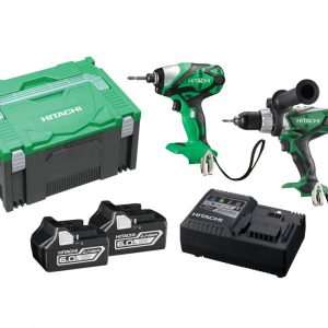 Hitachi 18V Cordless Slide 2 Piece Combo Kit