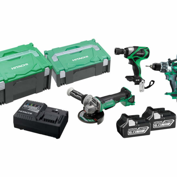 Hitachi 18V Cordless 3 Piece Brushless Combo Kit