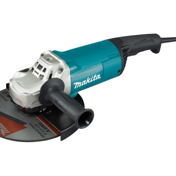 makita 230mm 9 angle grinder 2400w redtools. Black Bedroom Furniture Sets. Home Design Ideas