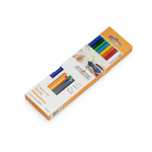 Steinel 7mm Coloured Glue Sticks 150mm pack of 16